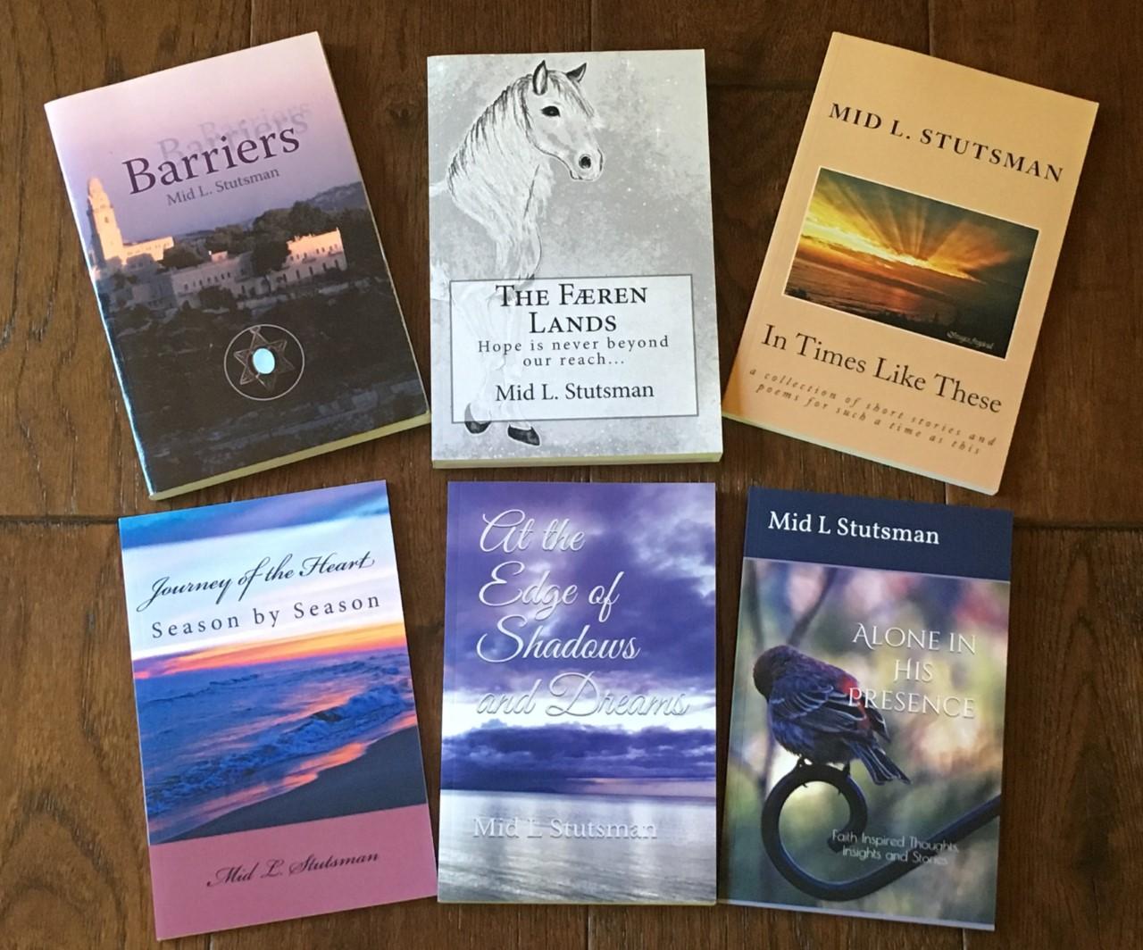 6 books